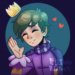 Precious Purple Boy (Commission)
