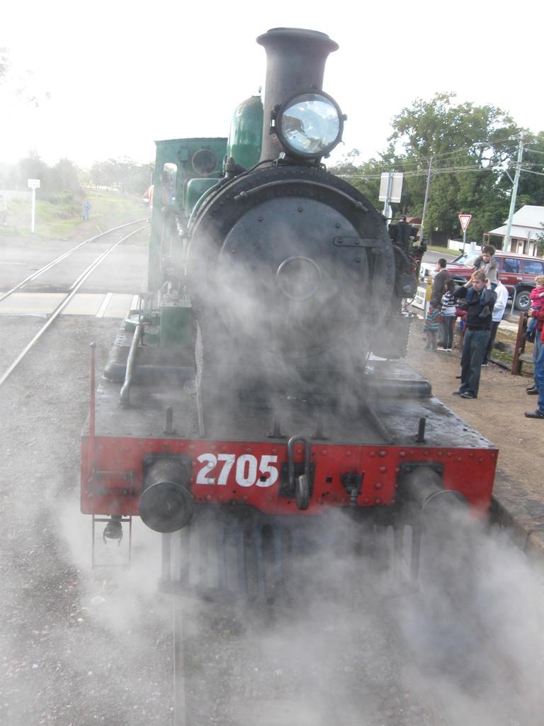 No.2705 releasing steam