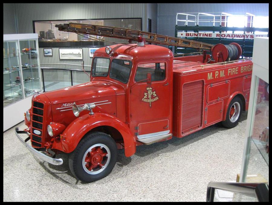 1948 Mack Truck : Mack firetruck by redtailfox on deviantart
