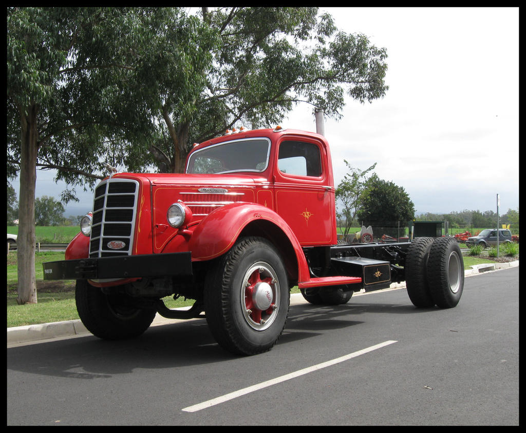 1948 Mack Truck : Eh mack truck outside by redtailfox on deviantart