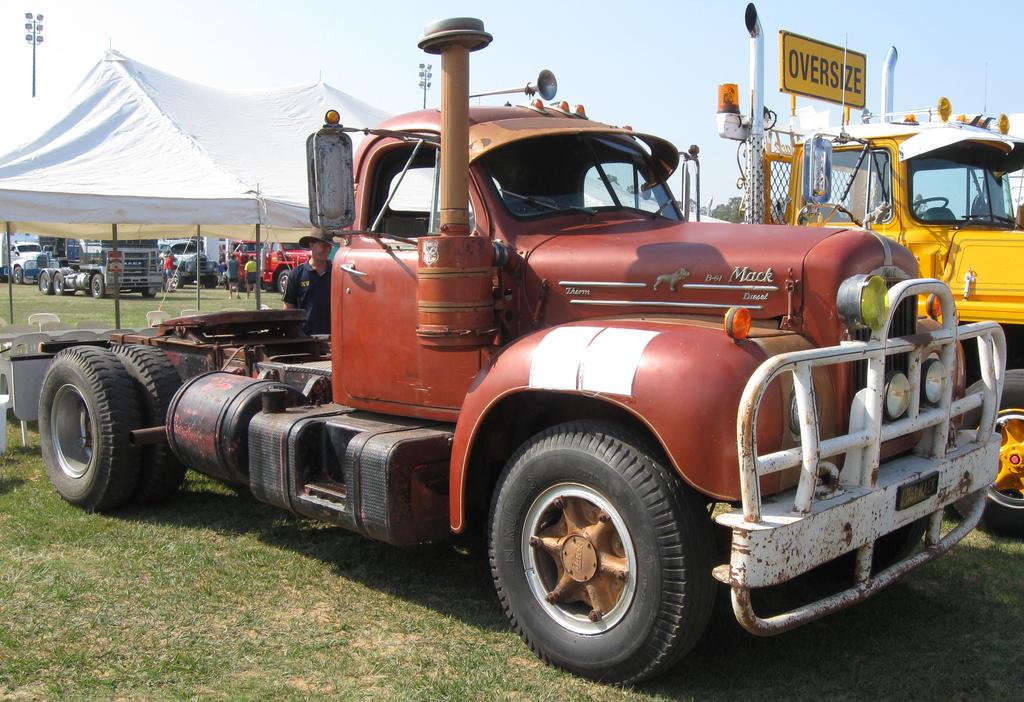Mack Trucks B61 Models : Mack b model on display by redtailfox deviantart
