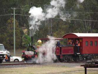 QR A10 class 0-4-2 No.6 at Grandchester