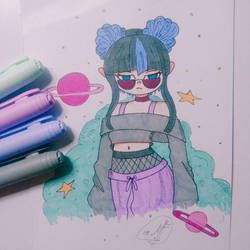 Punk girl by Ferprieto16