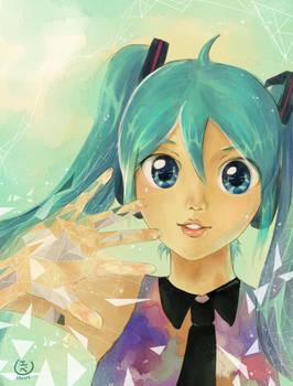 Tell Your World Hatsune Miku Fanart