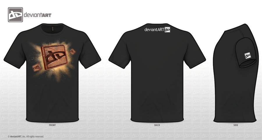 DA T-Shirt Contest 3 by ForrestImel