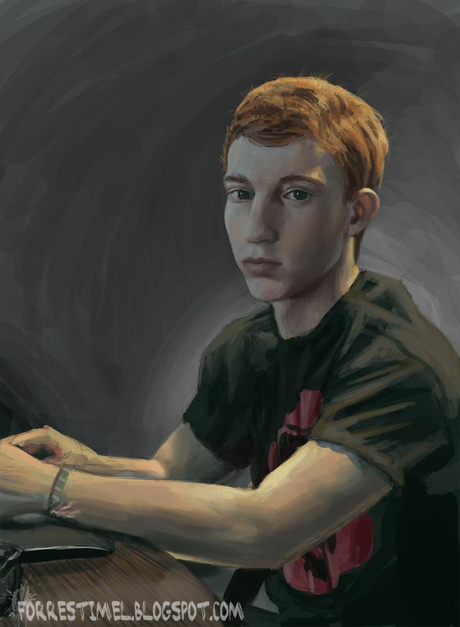 Self Portrait by ForrestImel