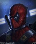 Deadpool Portrait 2