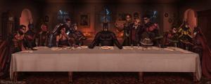 The Last Supper at Wayne Manor