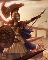 Athena by ForrestImel