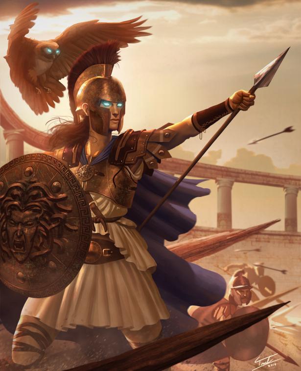 Athena by ForrestImel on DeviantArt