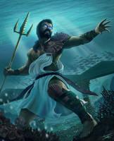 Poseidon by ForrestImel