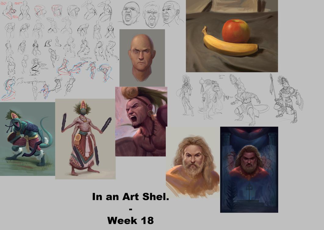 In an Art Shell - Week 18 by ForrestImel
