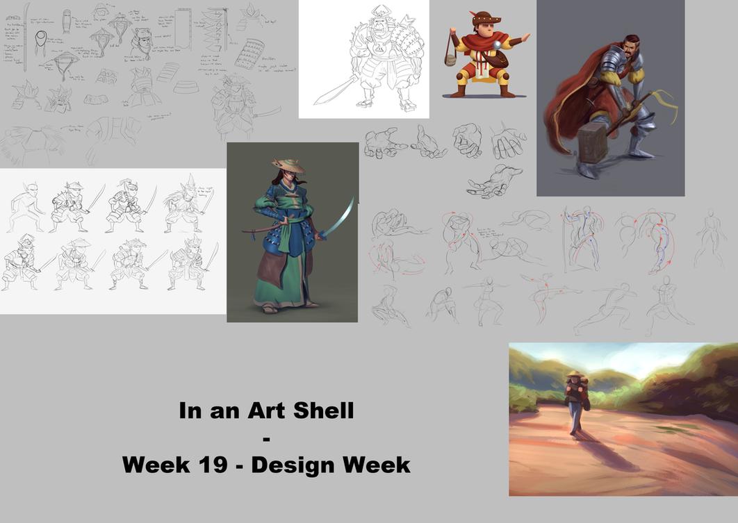 In an Art Shell - Week 19 - Design Week by ForrestImel