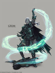 Grim by ForrestImel