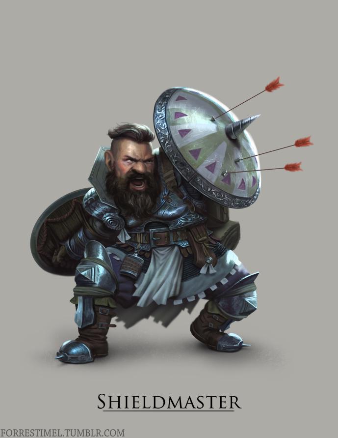 Shieldmaster by ForrestImel