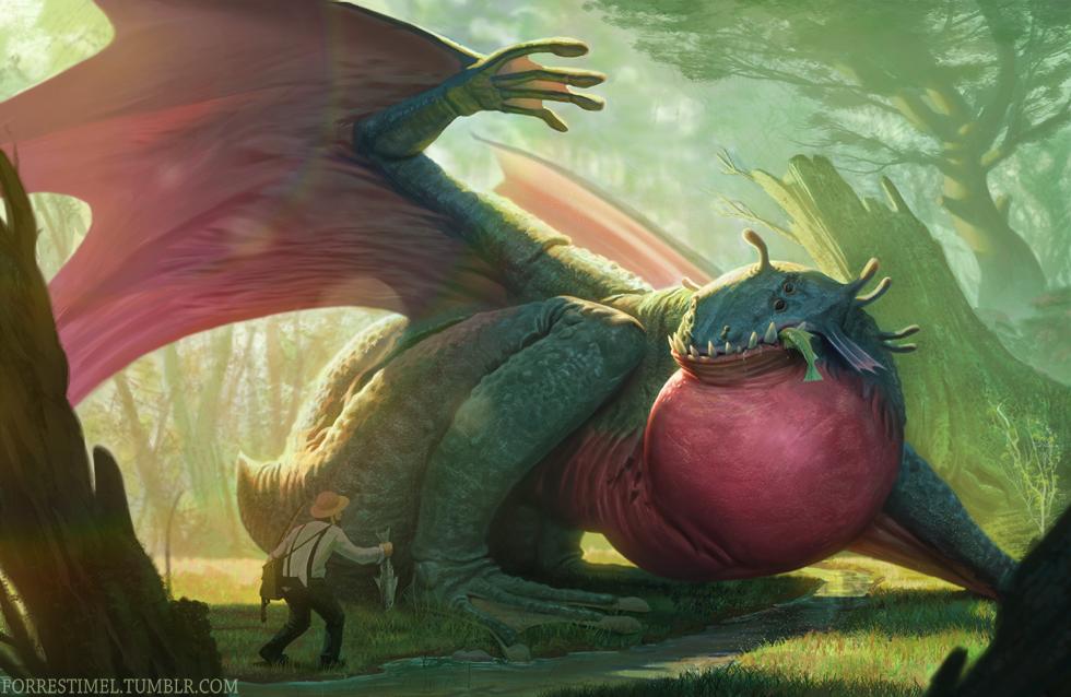 Frog Dragon By Forrestimel On Deviantart