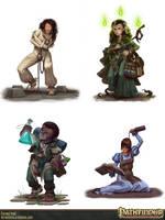 Pathfinder - Haunted Heroes Handbook by ForrestImel