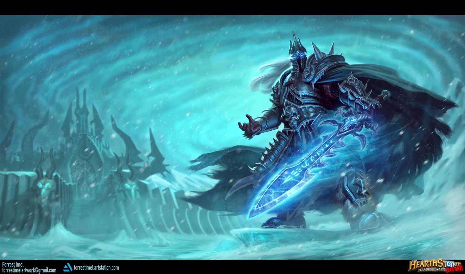 Death Knight Hero - Arthas Menethil by ForrestImel on ...