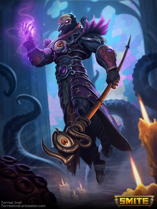 Smite ra eldritch skin by forrestimel on deviantart - Eldritch wallpaper ...