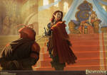 Pathfinder - Heroes of the Highcourt Illustration