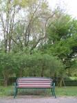 Park Bench Stock III by Sasa-Stock