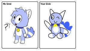 me draw sky  Styles Meme