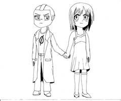 Kuro Nero and Shirai by Killaman16