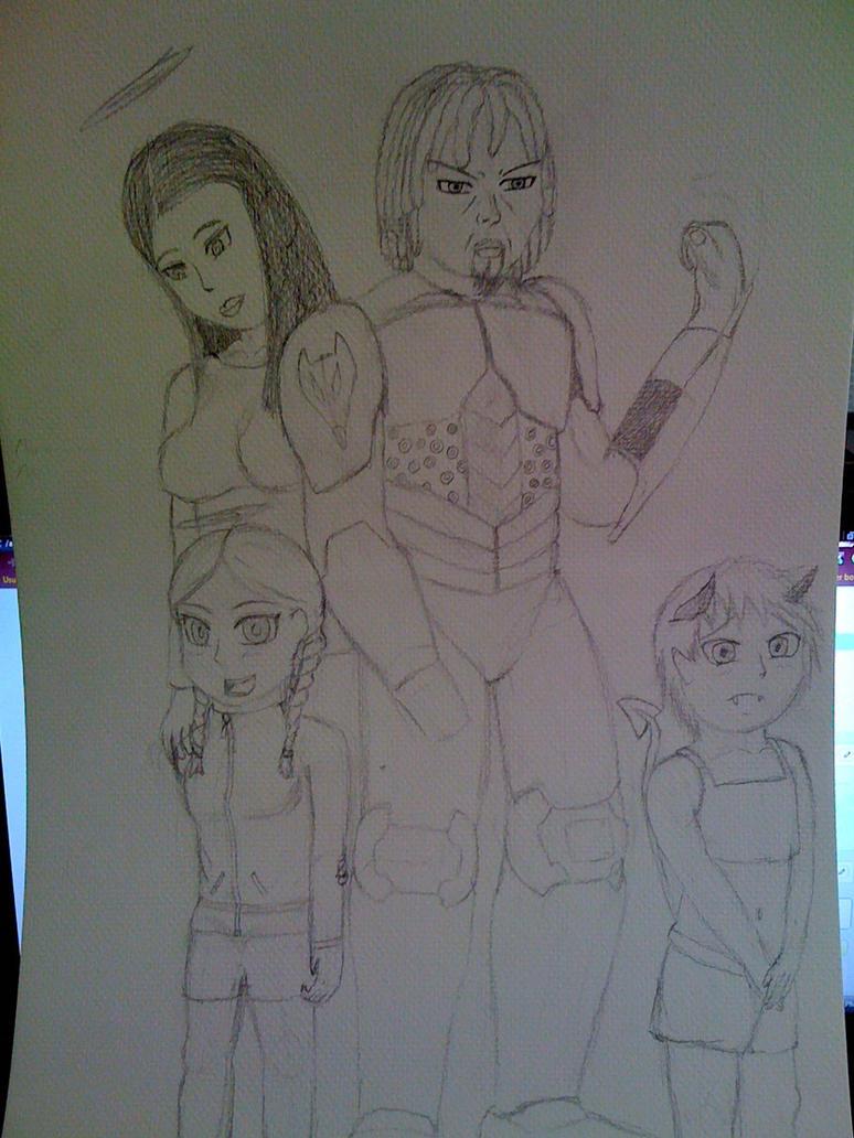 Killaman Anime/Manga Drawing Works - [Gallery + Feedback] - Page 3 Adult_daemon_drawing_ver_2_by_killaman16_by_killaman16-d553gjp