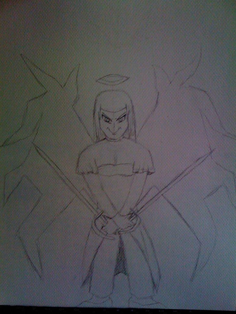 Killaman Anime/Manga Drawing Works - [Gallery + Feedback] - Page 3 Priscilla_the_crystal_angel_ver_1_by_killaman16_by_killaman16-d56mbum