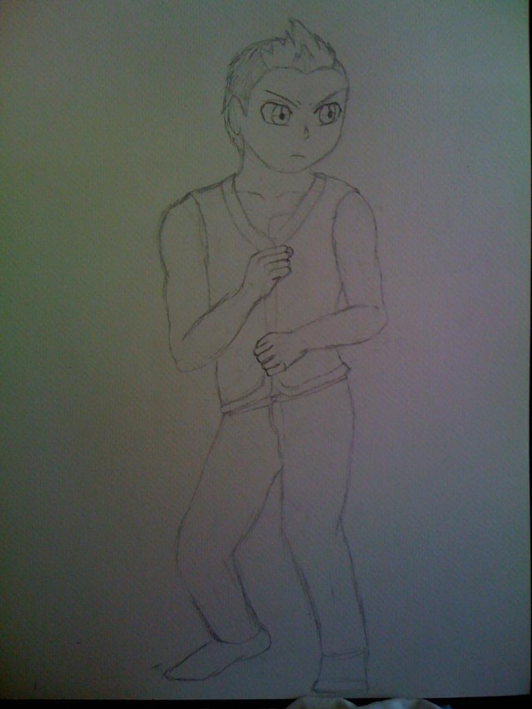 Killaman Anime/Manga Drawing Works - [Gallery + Feedback] - Page 3 Chase_by_killaman16-d5abdy1