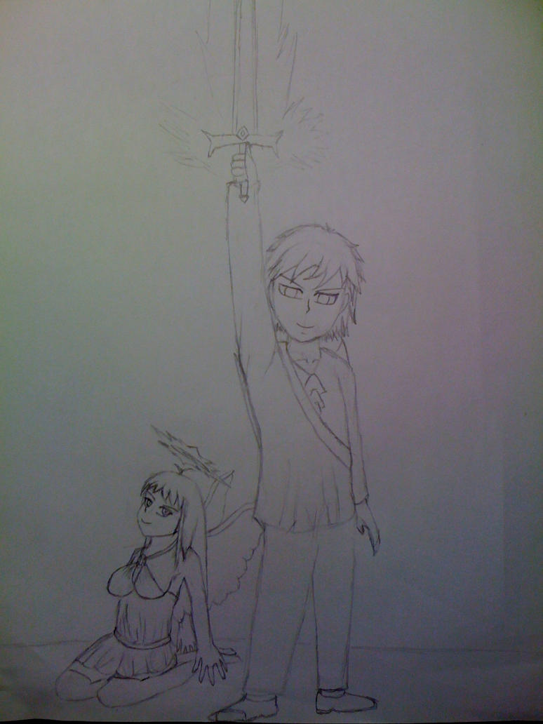 Killaman Anime/Manga Drawing Works - [Gallery + Feedback] - Page 3 Kaiden_and_true_tezca_by_killaman16-d5efhhn