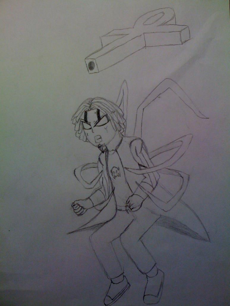 Killaman Anime/Manga Drawing Works - [Gallery + Feedback] - Page 3 Daemon__anubis_infection_stage_1__ver1_by_killaman16-d5fsguv