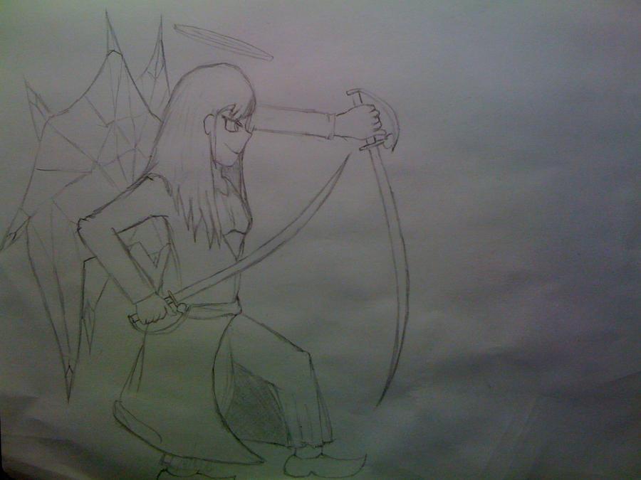 Killaman Anime/Manga Drawing Works - [Gallery + Feedback] - Page 3 Priscilla_the_crystal_angel_2_by_killaman16-d5ghigi