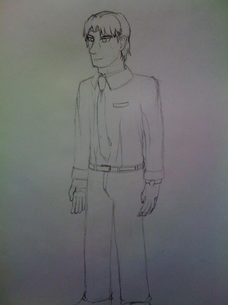 Killaman Anime/Manga Drawing Works - [Gallery + Feedback] - Page 3 Ryu_by_killaman16-d62szgr