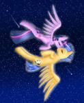 Flash Sentry and Twilight Sparkle
