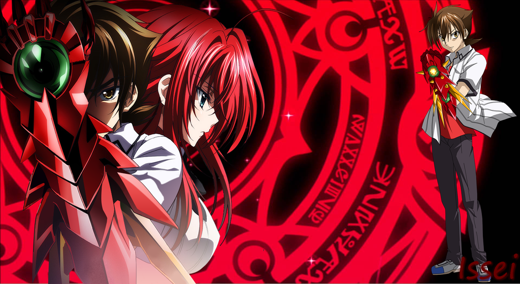 Highschool DXD Issei Wallpaper by Grecia-san on DeviantArt