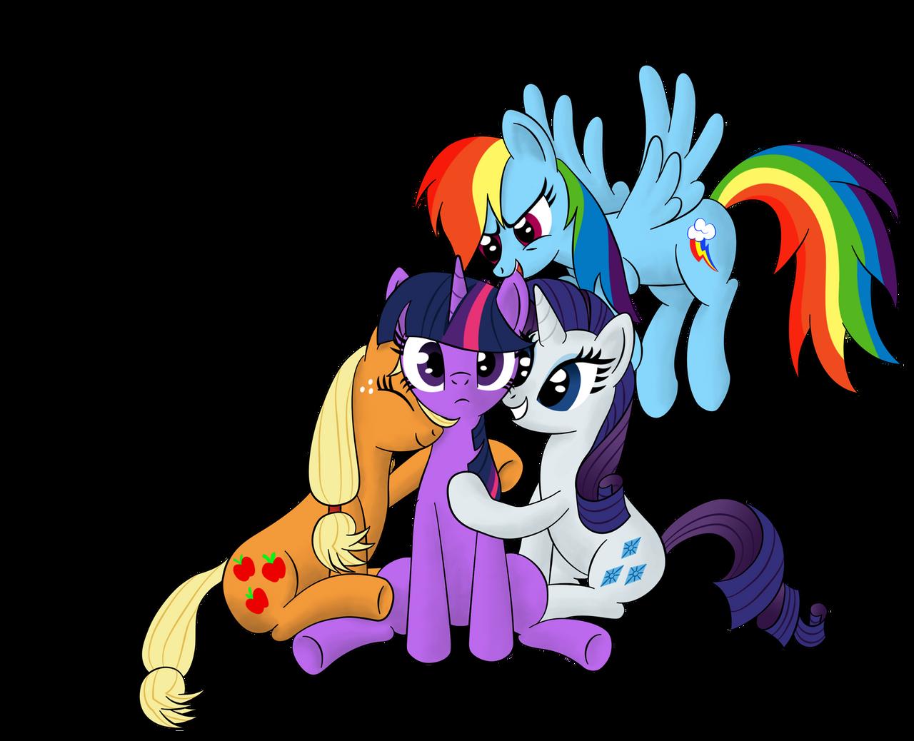Everypony loves Twilight by furor1