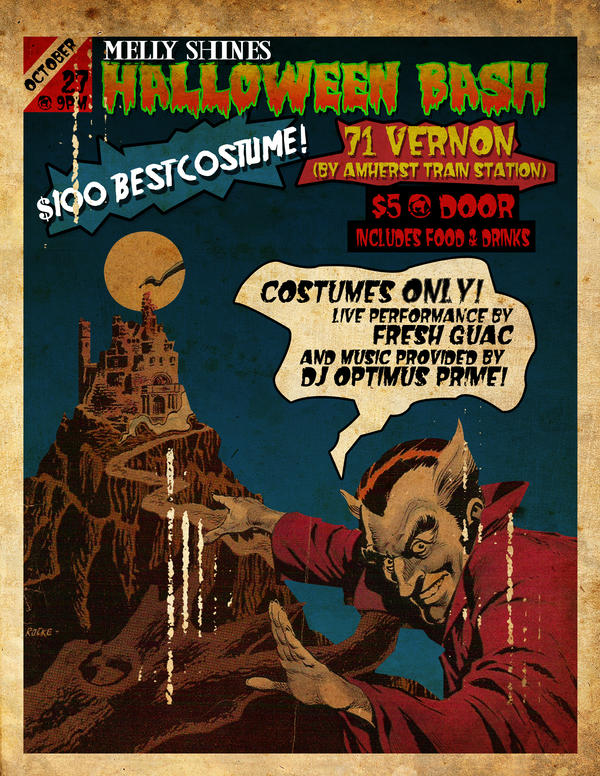 Halloween flyer by vinnylo