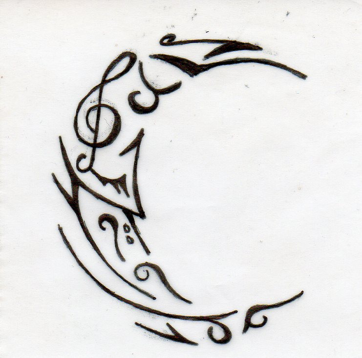 Crescent Melody's Creation Moon_tattoo_by_lil_angela-d4676pb