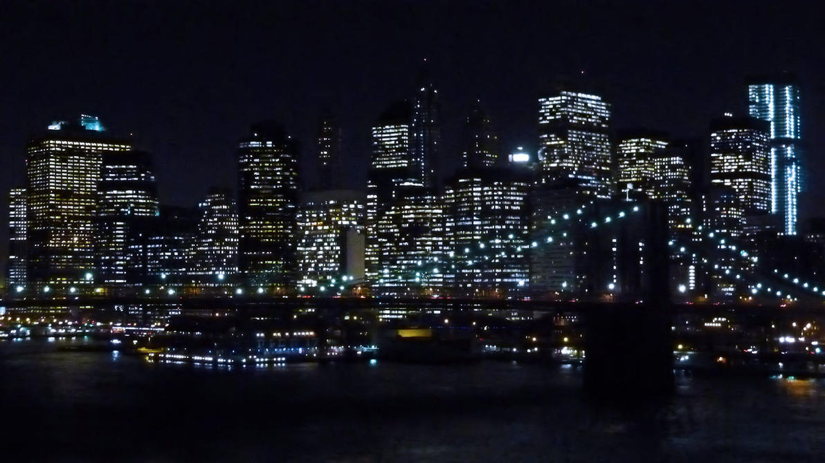 New York Night Lights By LordNobleheart ...