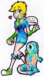 Hypermode Nixie and Daxter the Squirtle .:C19:.
