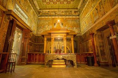 Kelaniya Temple Interior