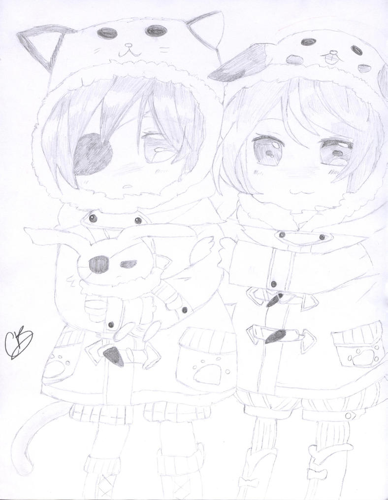 Ciel Phantomhive And Alois Trancy Chibi By Leane Chan On