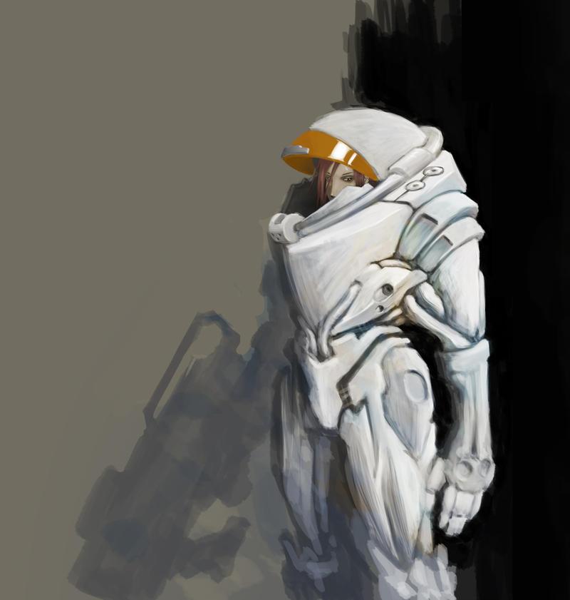 Space Suit by Elven-Curse