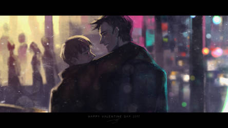 Happy Valentine Day 2017 by N-2015