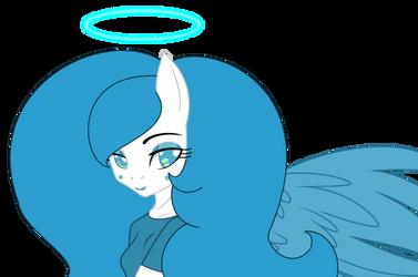 A Beautiful Angel by PrinceDuskstripe