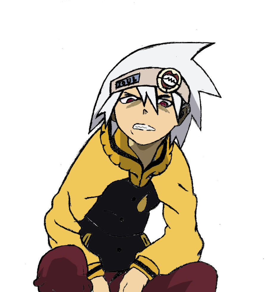 Soul Eater Evans Colored by annareru