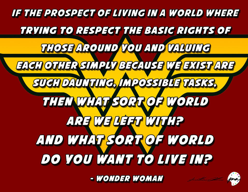 Superman and wonder woman love quotes