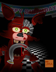 FNAF: Foxy's Birthday Slash (2017) by jmalfonso7