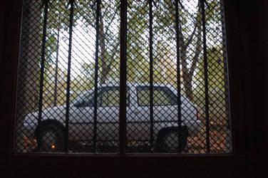 Encaged Car